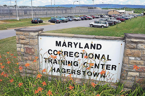 The Maryland Correctional Training Center on Roxbury Road is part of the state prison complex south of Hagerstown.