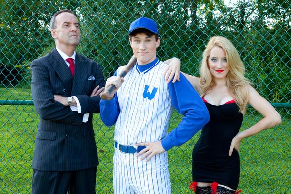 "Dale Hensley, Jarrad Green and Jane Kivnick star in ""Damn Yankees"""