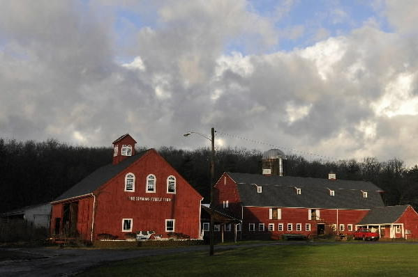 A Courant file photo of Fisher Farm on the town line of Farmington and Avon.
