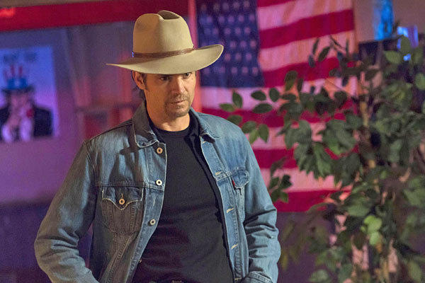 Timothy Olyphant stars in 'Justified'