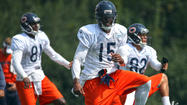 Photos: Bears at practice before Raiders game