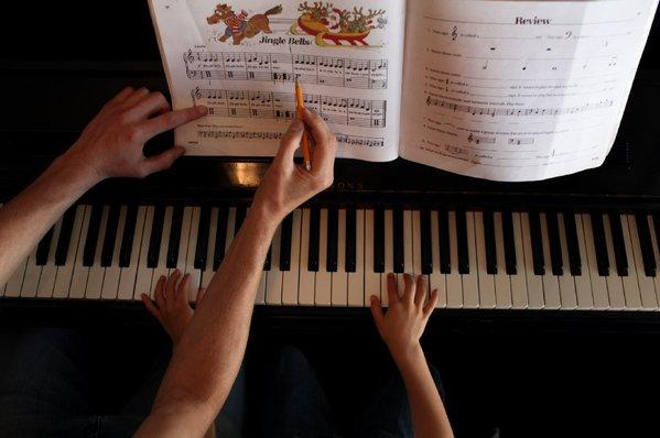 "A study suggests sleep will help this student master ""Jingle Bells."""