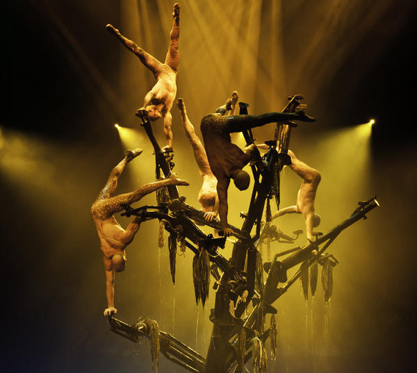 "With a cast of more than 90 athletes and entertainers, ""Le Reve"" is a thrilling production that is sometimes overlooked by Vegas visitors."