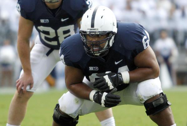 Penn State offensive lineman John Urschel (Getty Photo)