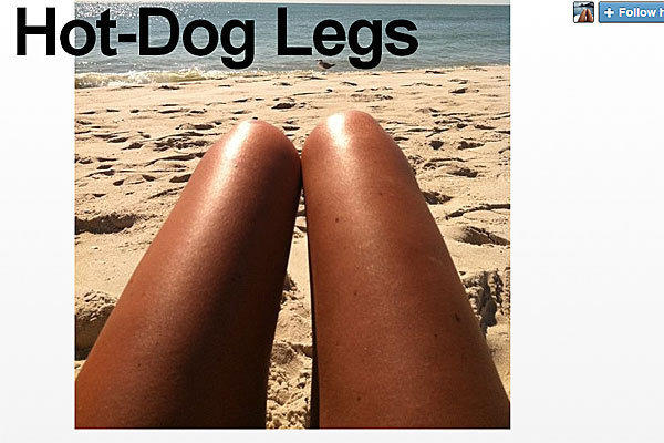 Hot Dog Legs Tumblr