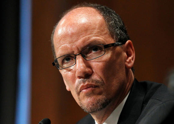 U.S. Labor Secretary Thomas E. Perez