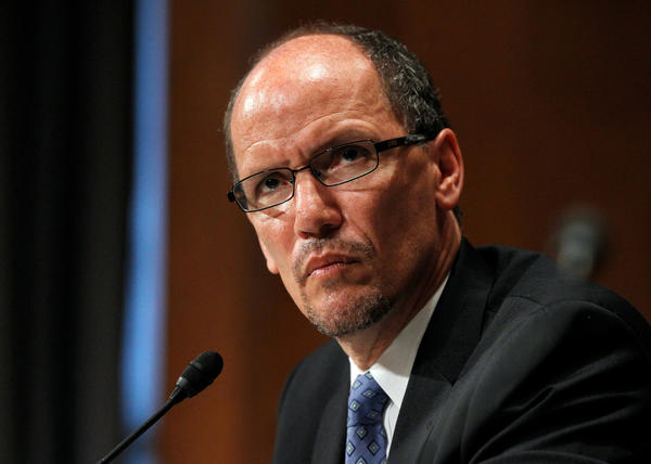 U.S. Labor Secretary Thomas E. Perez