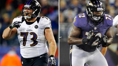Yanda and Osemele give the Ravens an impressive guard tandem
