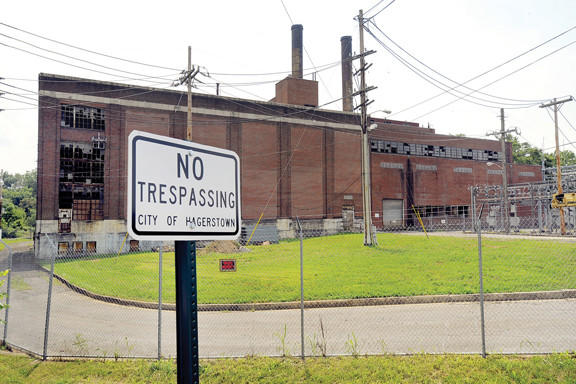 The Hagerstown City Council came to a consensus to begin the process of taking the former Municipal Electric Light Plant property at the intersection of Eastern Boulevard south and Mt. Aetna Road by eminent domain, a legal process by which the city can take back private property for public use.