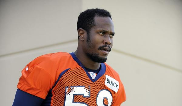 Denver Broncos linebacker Von Miller has been suspended six games for violating the league's drug policy.