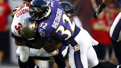 Ravens close to determining final starter at safety