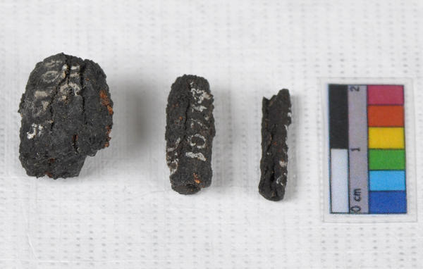 Three ancient iron beads, apparently made from a meteorite, that were found in two Egyptian tombs show that iron smelting was practiced much earlier than thought, a new study shows.