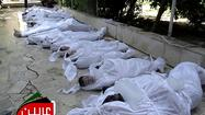 Syria rebels say scores dead in poison-gas attack