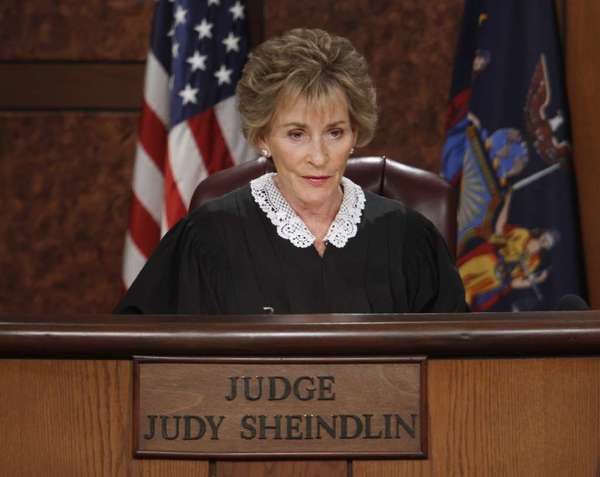 Judge Judy Sheindlin rules, salary-wise, from her TV bench.