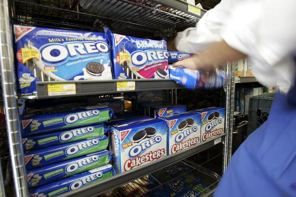 A New York high school math class says Double Stuf Oreos don't really have double the creme stuffing.