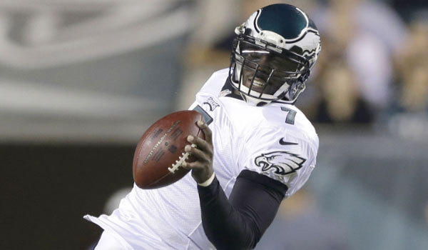 Michael Vick has been named the Philadelphia Eagles' starting quarterback.