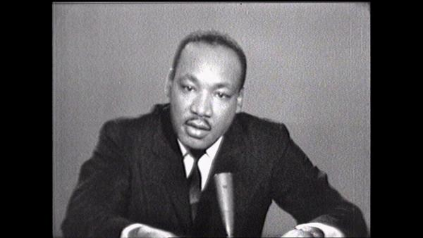 "Martlin Luther King Jr. on ""Meet the Press"""
