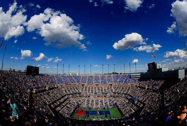 The U.S. Open tennis tournament will take place Aug. 26 to Sept. 9 at the USTA Billie Jean King National Tennis Center in New York. Above, Arthur Ashe Stadium, the main venue.