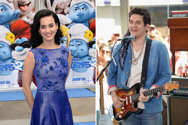 "Katy Perry is gushing over her boyfriend John Mayer's new album, ""Paradise Valley."""