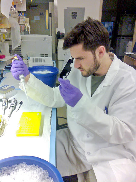 Patrick Perrigue, a 2002 graduate of La Canada High School, earned his doctorate in neuroscience from City of Hope's Beckman Research Institute in June 2013.