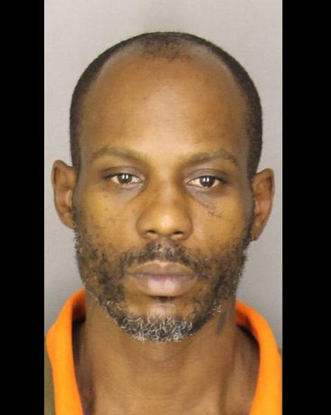 Rapper DMX, whose real name is Earl Simmons, is arrested in Greer, S.C., on an outstanding warrant for driving with a suspended license and possession of marijuana.