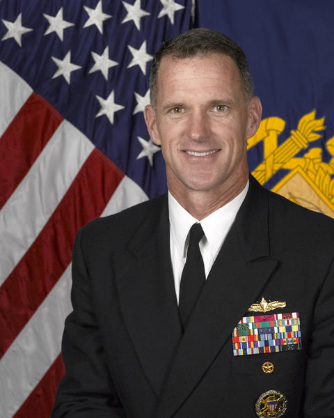 Navy Capt. Bill Byrne, who is the commandant of the U.S. Naval Academy.