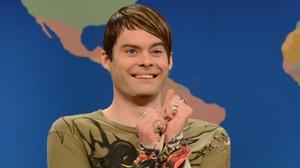 Join a live chat with 'Saturday Night Live's' Bill Hader on Thursday