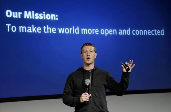"""We believe everyone deserves to be connected,"" Mark Zuckerberg said in a white paper Facebook released Monday night."