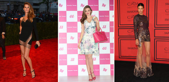 Gisele Bundchen, Miranda Kerr, Adriana Lima are top-earning models