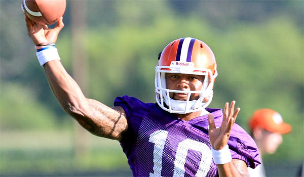 Clemson quarterback Tajh Boyd led the Tigers to an 11-2 record and a victory in the Chik-fil-A Bowl over Louisiana State.