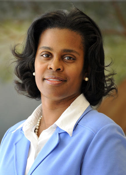Sonja Brookins Santelises, Baltimore City Public Schools Chief Academic Officer, in 2011.
