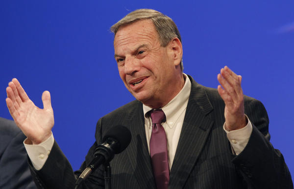 San Diego Mayor Bob Filner during a campaign debate last year.