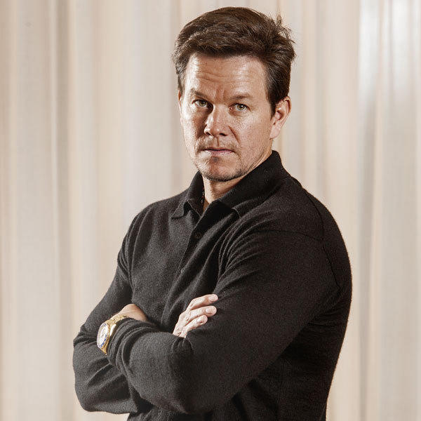 Actor Mark Wahlberg poses after an interview at the Peninsula Hotel in Chicago.