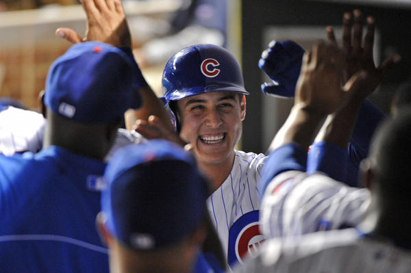 Chicago Cubs first baseman Anthony Rizzo.
