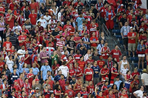Chicago Fire during the first half against the D.C. United at Toyota Park on Aug. 11. (Mike DiNovo/USA TODAY Sports)