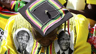 Zimbabwe leader Mugabe sworn in for seventh term; decries West, gays