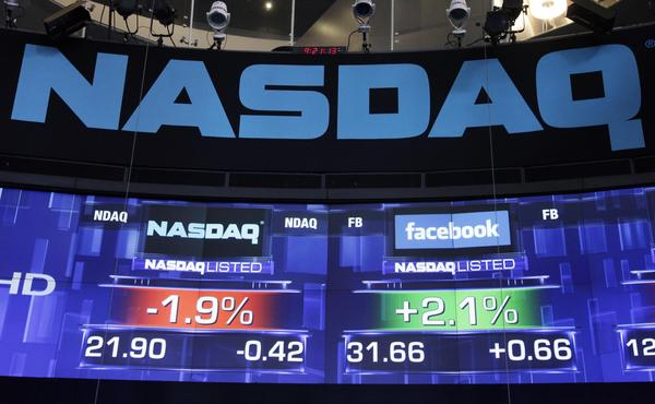 Nasdaq halts trading in options market