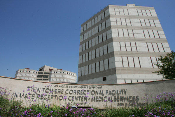 Twin Towers jail in downtown Los Angeles.