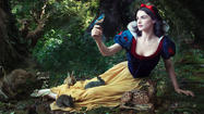 Photos of celebrities for Disney ad campaigns by Annie Leibovitz