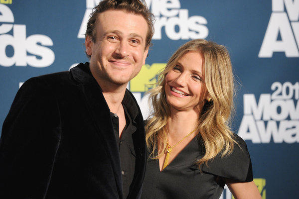 "Cameron Diaz and Jason Segel, shown at the 2011 MTV Movie Awards, sparked dating rumors this week with a ""friendly"" dinner in New York."