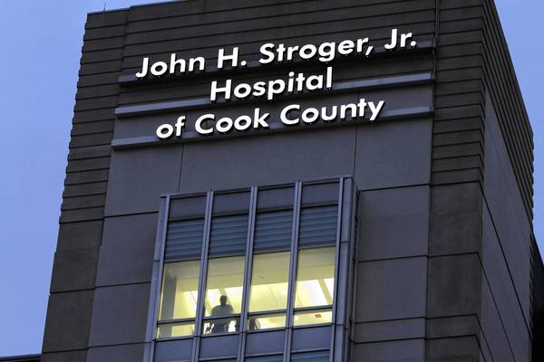 Cook County Board members need to be skeptical about spending on the county health system, which despite belt-tightening and increased federal aid still will require a $175 million taxpayer subsidy next year.