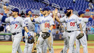 Dodgers finish East Coast swing in style, beat Miami, 6-0