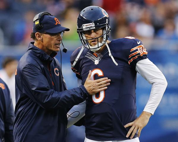 Bears coach Marc Trestman and quarterback Jay Cutler have a lot of work to do if they're going to get the Bears back to the playoffs.