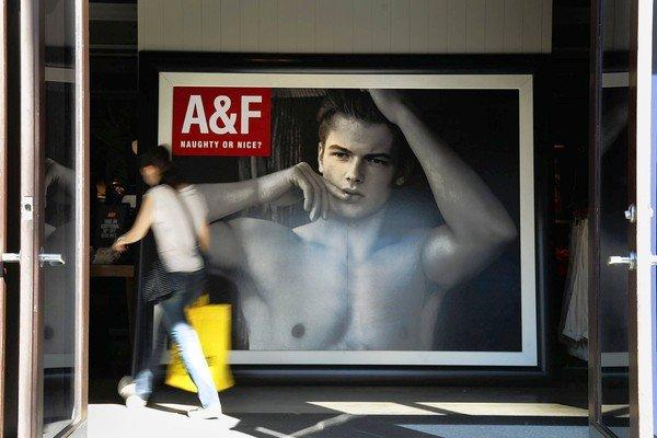 Abercrombie & Fitch's same-store sales fell 10%. The New Albany, Ohio, company expects the gauge to be down even more in the third quarter. Above, an Abercrombie and Fitch store in Santa Monica.