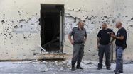 Israel says two rockets hit residential areas