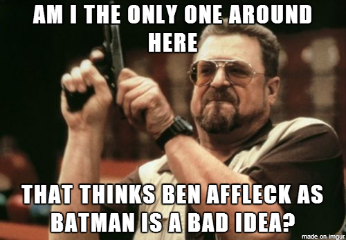 Max Alone - Rockin' in the free world: Bat-Affleck: Ben ...