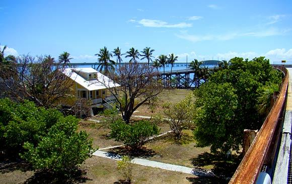 Pigeon Key's restored buildings