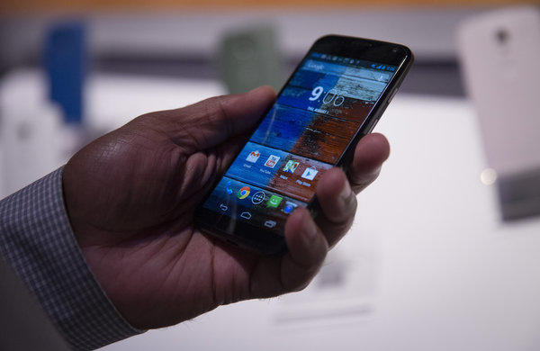 Google¿s Motorola Unveils Moto X Phone in Bid to Revive Business