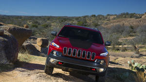 2014 Jeep Cherokee, on and off-road
