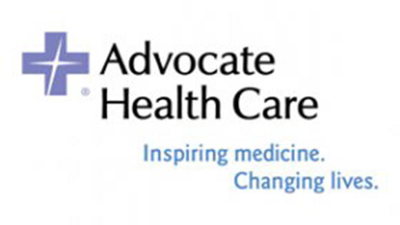 The logo of Advocate Health Care.